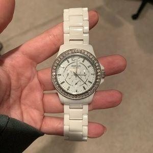 Sadie multifunction stainless steel watch